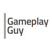 logo, gameplay guy